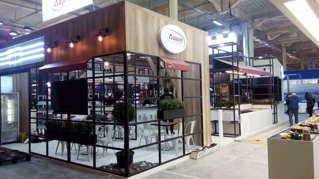 Δημιουργία περιπτέρου στην Food Expo 2017