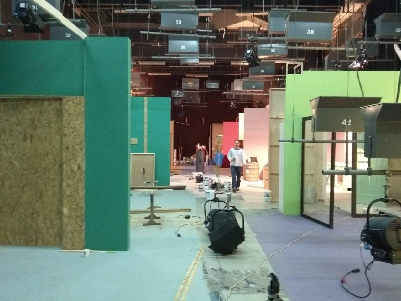 Κατασκευή σκηνικών ομίλου ΑΝΤ1
